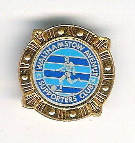 Walthamstow Ave  Supporters Club - Badge