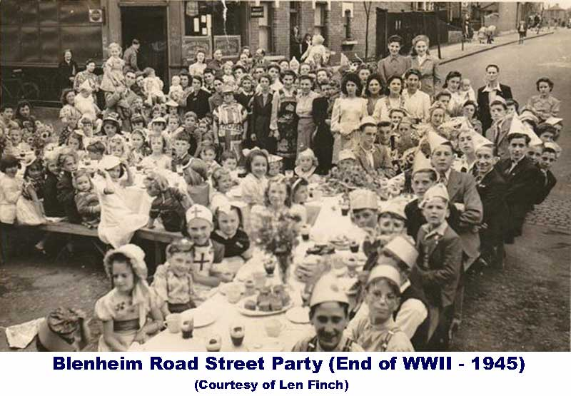 Picture of Blenheim Street Party - 1945