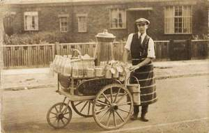 Dad as Milkman (Maureen Hemming)