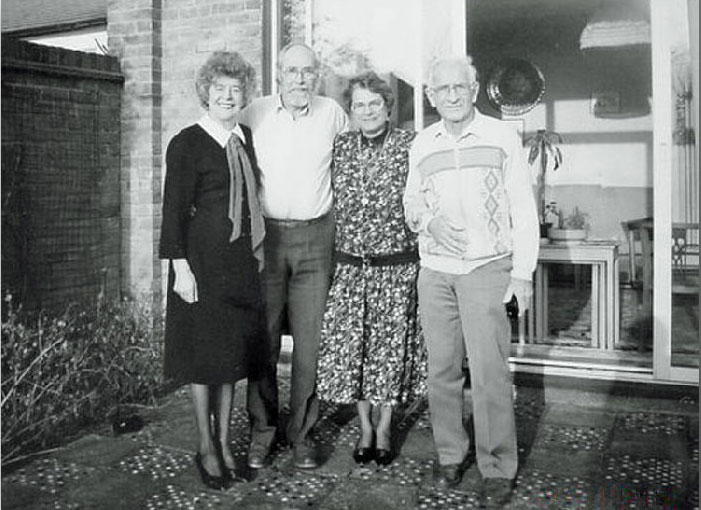 Ms Jean Paddock with other teachers