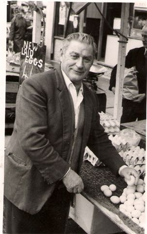 Picture of Ernie Nathan - Egg stall in Walthamstow
