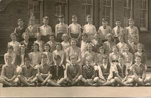 Winns Ave School - 1955 (Roy Cain)