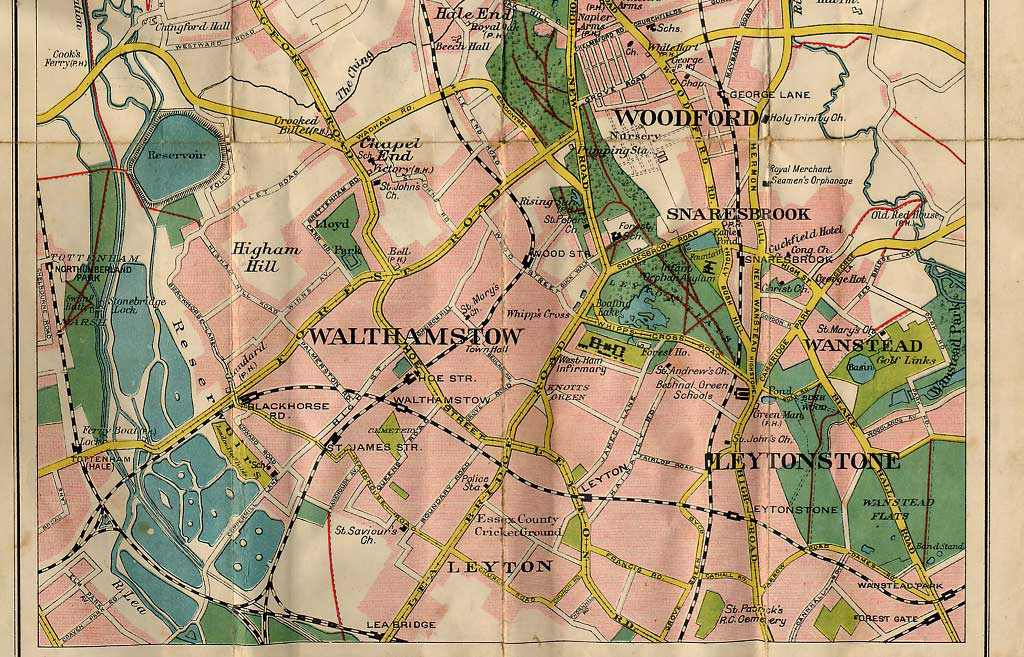 Walthamstow Map - '20s