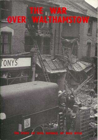 Front cover of The War over Walthamstow